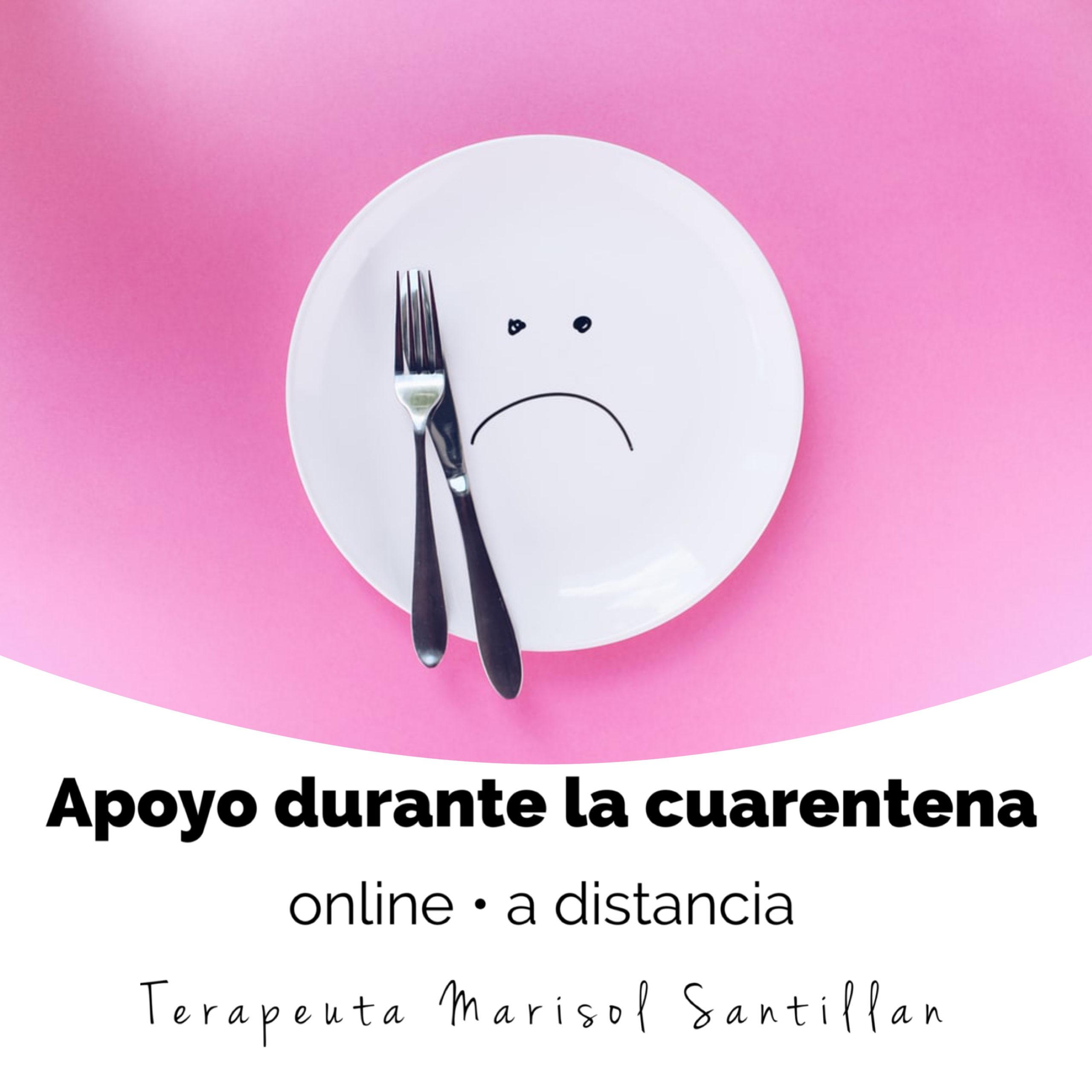 Libérate del hambre emocional ®  y Mi relación con la comida ® durante la cuarentena #online