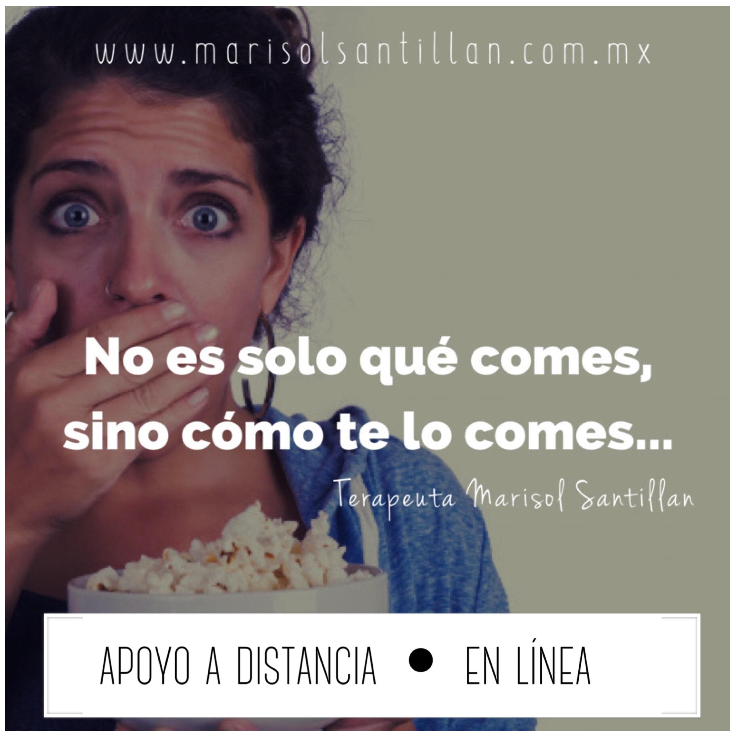 Libérate del hambre emocional ®  y Mi relación con la comida ® individual #online